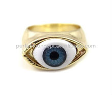 Evil / eye alloy ring jewelry