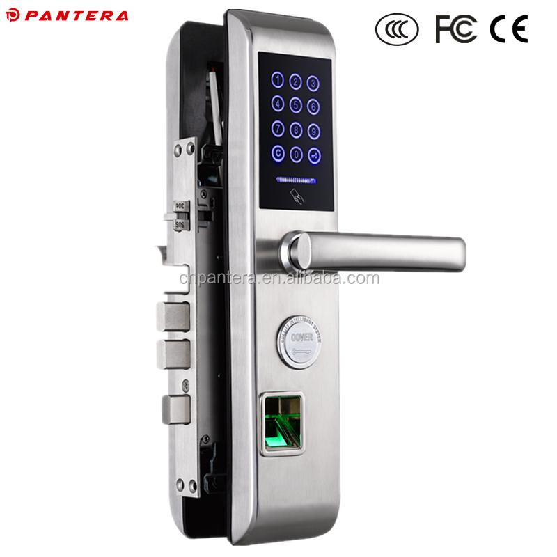 electromagnetic card doors product door with detail lock nfc buy sensor right swipe hand fingerprint