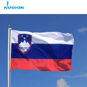 3x5ft white blue red national day cheering slovenia flag