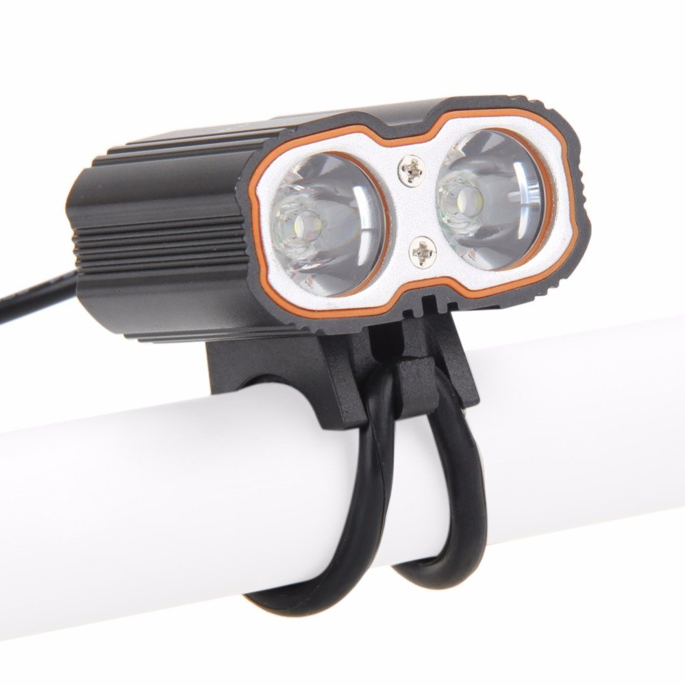 NACOLA 6000LM Waterproof Bicycle Front Light Super Bright Bike Headlight Bike Head Lamp Flashlight for CREE XM-L T6 LED Bicycle Light