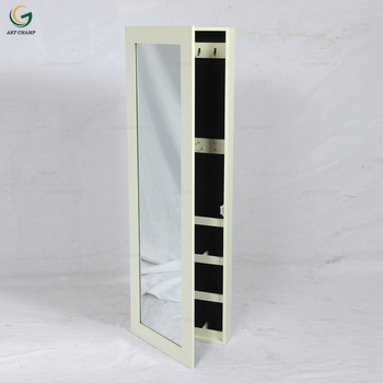 Mdf Wooden Storage Full Length Mirror