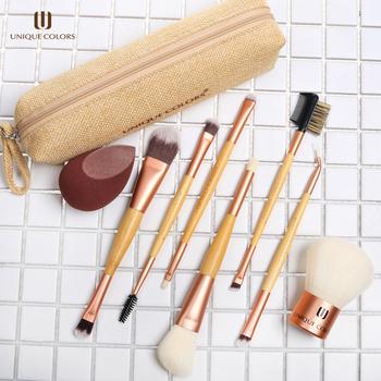 2019 new arrival 8pcs cosmetic brushes set microfiber