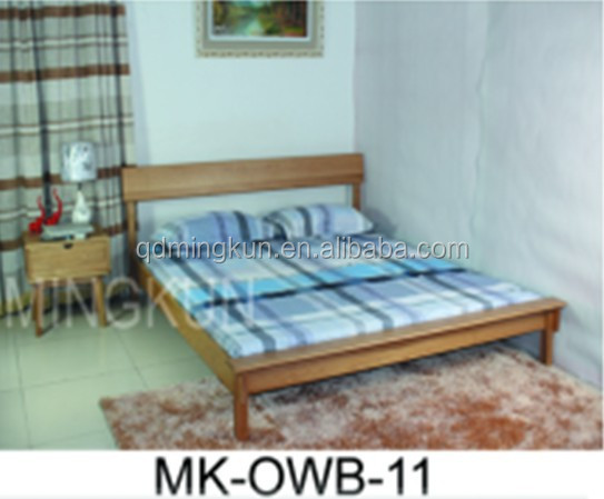 pine wood double bed manufacture