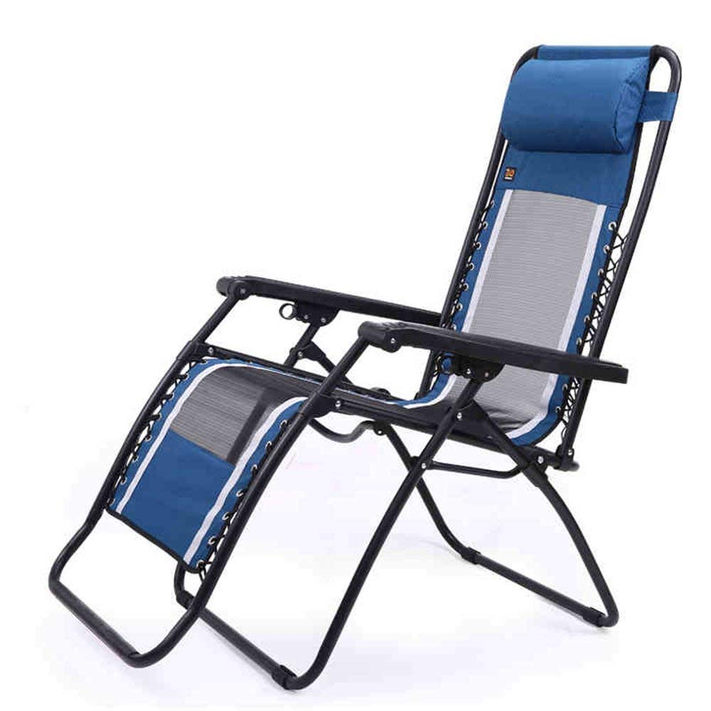 Rocking Chairs MEIDUO Adjustable Reclining Chair Zero Gravity Chairs Recliner Lounge Patio Pool Outdoor Lounge Chairs Blue