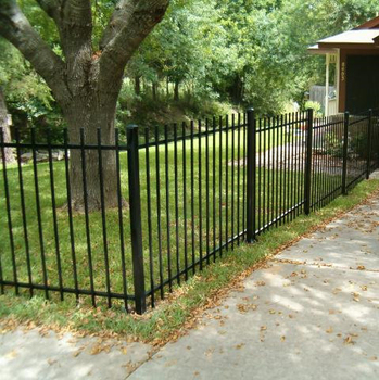 Beau Small Metal Fences For Garden Partition