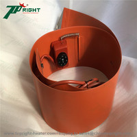 Customized Electric Heating 120V Silicone Rubber Heater drum Bed