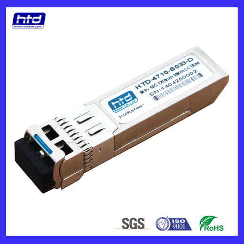 10G DWDM SFP Transceiver with DDMI 40 TO 80km