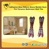 Adhesive Glue Nature Stone Marble Gum For Ceramic Bathroom Wall Tile