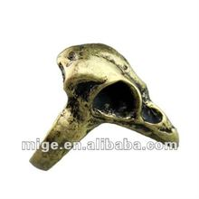 2012 Newest Fashion Cheap Skull Ring(JE0331004C)