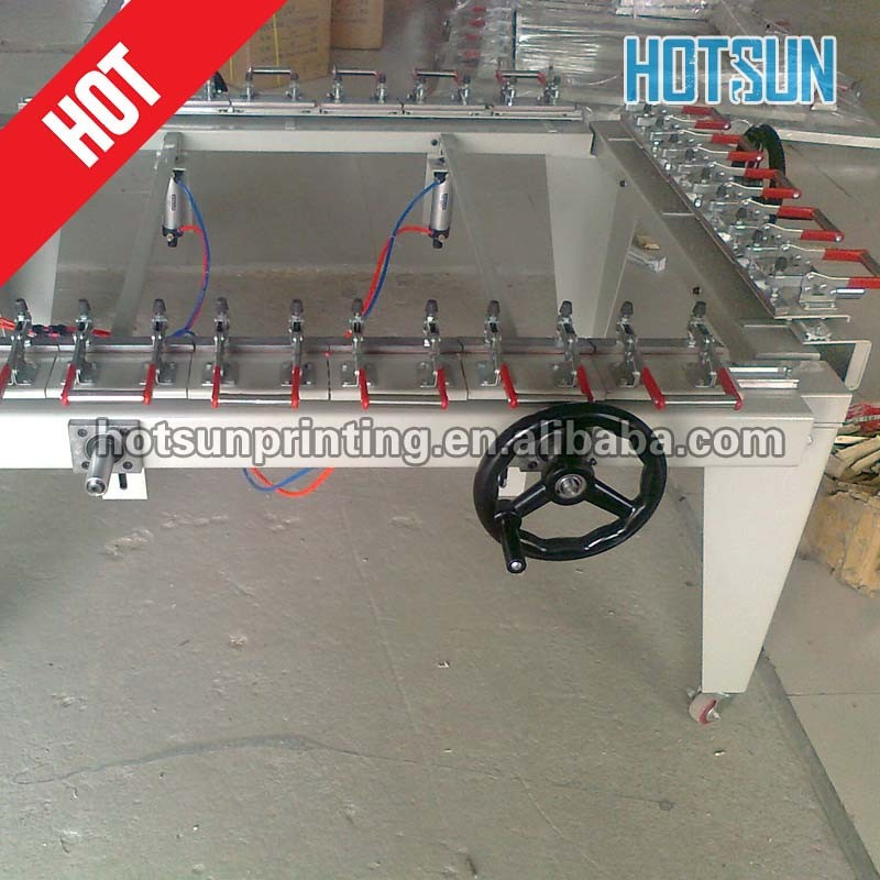 Silk screen stretching machines/screen stretching machine