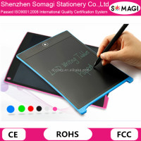 12 Inch 6 Colors Writing Tablet LCD Touch Screen Drawing Board with Stylus Pen - Customer Logo Available