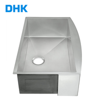 Farmhouse Fancy Brushed Single Bowl Kitchen Accessories Stainless Steel Sink For Bathroom Or Kitchen