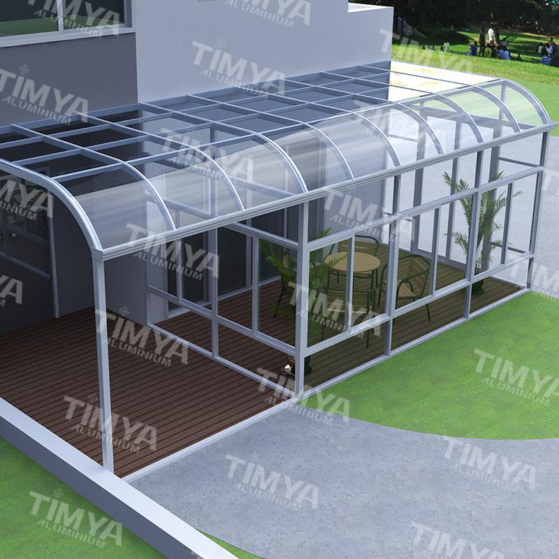 attraktives aussehen aluminium wintergarten designs. Black Bedroom Furniture Sets. Home Design Ideas