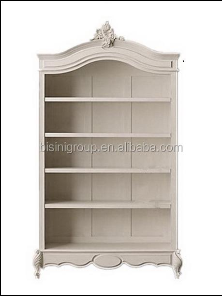 Bisini American Style Simple Kids Wooden Cabinet No Door
