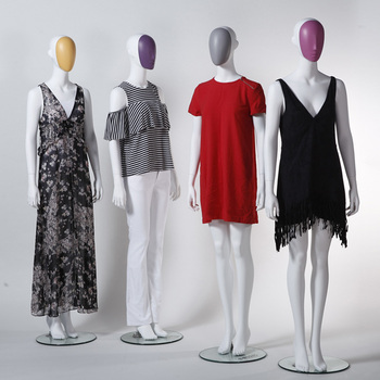Abstract fashion mannequin female mannequin for window display