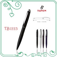 advertising ball pens with metal clip TB1223