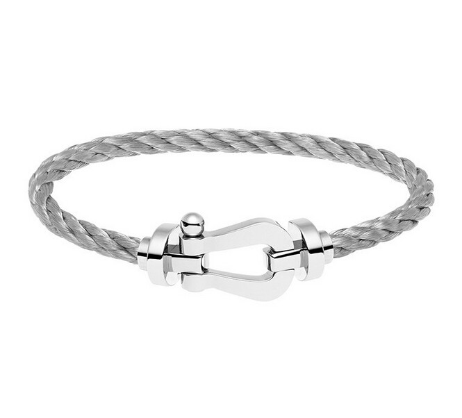 Stainless Steel Buckle Bracelet France Famous Brand Force Buckle Bracelet For Men Fine Jewelry Pulseira S3-0187