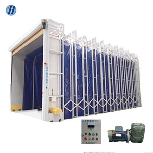 Outdoor portable spray booth/economic dry paint oven booth for sale