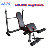 Workout Sit Up Adjustable Bench Weight Lifting Gym Equipment