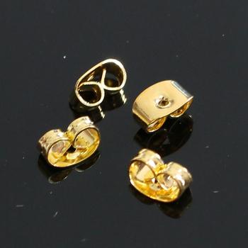 0f3a4a722 Gold Colour Brass Stud Earrings Screw Back Earring Backs - Buy ...
