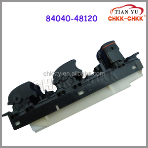 Alibaba Website Car Make Components Power Window Lifter Switch OEM 84040-48120 For Japanese Used Cars RX300/330/350