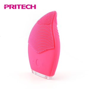 PRITECH Beauty Care Facial Deep Cleansing Silicone Face Cleaner Brush