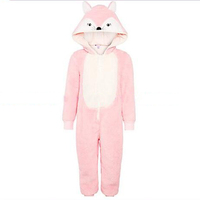 Fox winter Cosplay Fashion Halloween Animal Pajamas Onesie