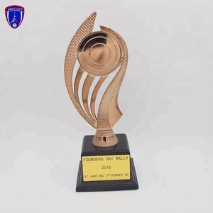 Promotional wholesale Cheapest custom metal Sport trophy cup