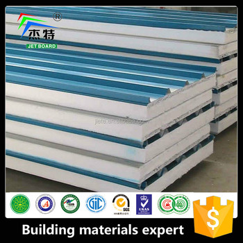 Build House Sandwich Panel Price Expandable Polystyrene Removable Roof