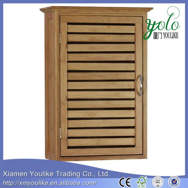 Bamboo Bathroom Wall Cabinet | Home Design & Interior Design