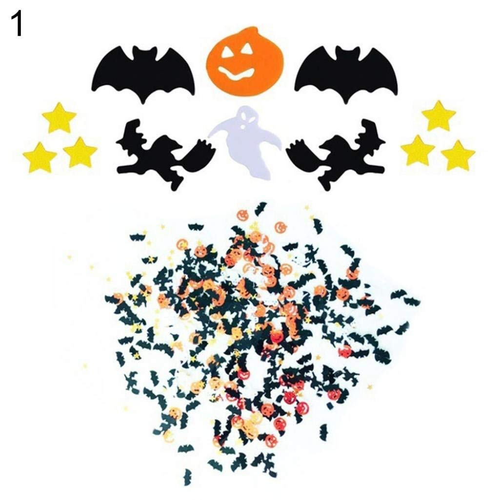 Banners, Stickers & Confetti Party Deco Halloween Metallic