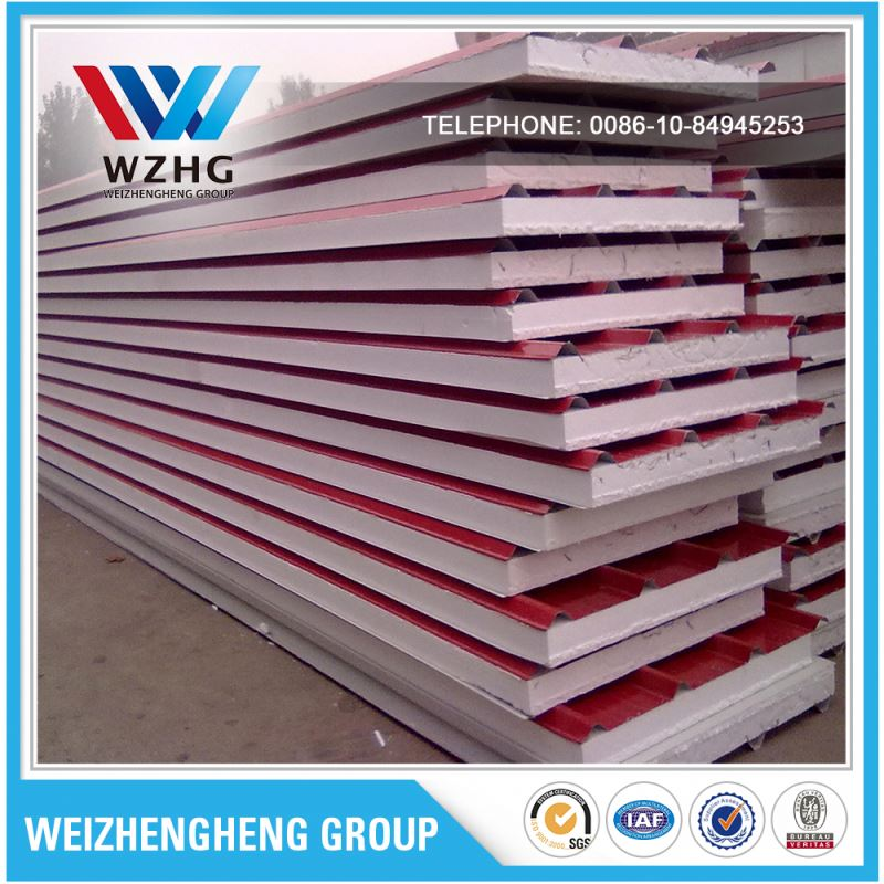economic cold room waterproof soundproof eps sandwich panel price