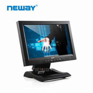 10 Inch Industrial Wide VGA TFT LCD Monitor Multi Touch Screen Kit