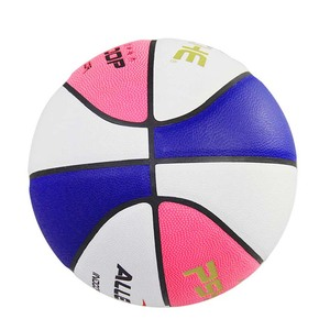 Moisture absorbing non-slip sports outdoor training rubber ball custom basketball