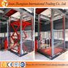 Small model customized stationary electric scissor lift platform table price