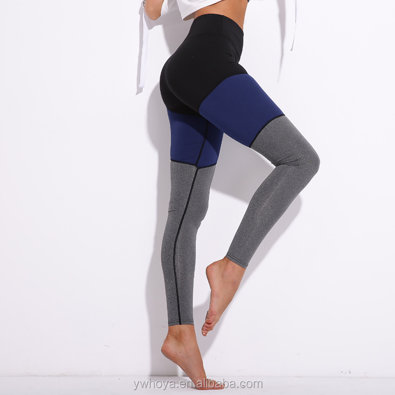 2018 wholesale hot sexy sports gym yoga pants women compression leggings long tights socks