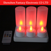 remote controlled Rechargeable Led Candle For christmas