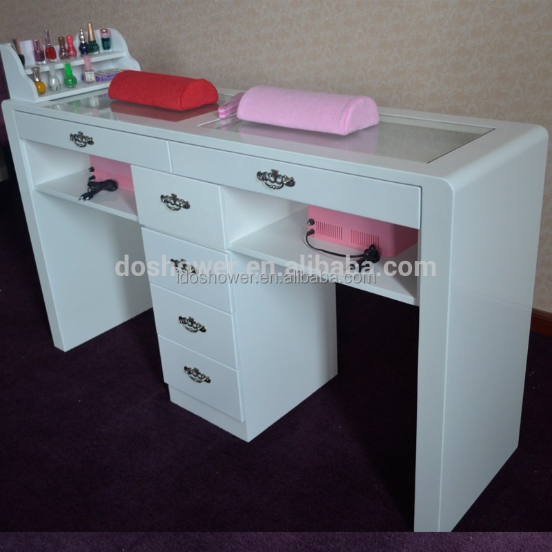 Vending Machines Nail Art With Marble Top Manicure Table - Buy ...
