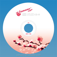 beautiful car blank cd-r 52X 700mb cd r
