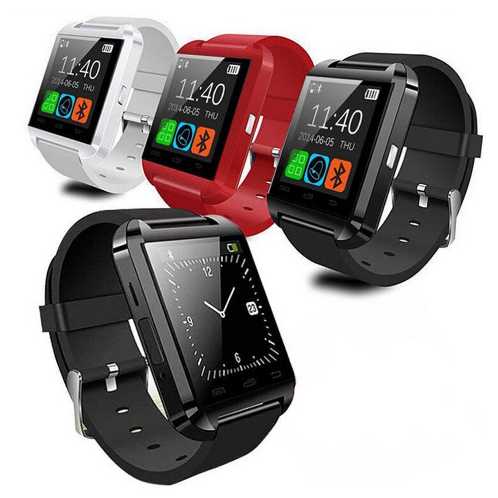 Smart Bluetooth Watch U8 GT08 DZ09 Wristwatch Sim Card Smartwatch For Iphone6 Samsung Android Phone Watch Phone