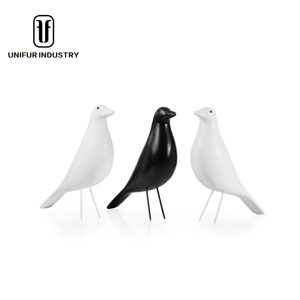 Replica modern durable beautiful wholesale house decoration colorful house bird