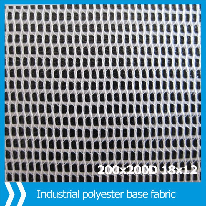 industrial polyester fabric for manufacturing pvc flex banner