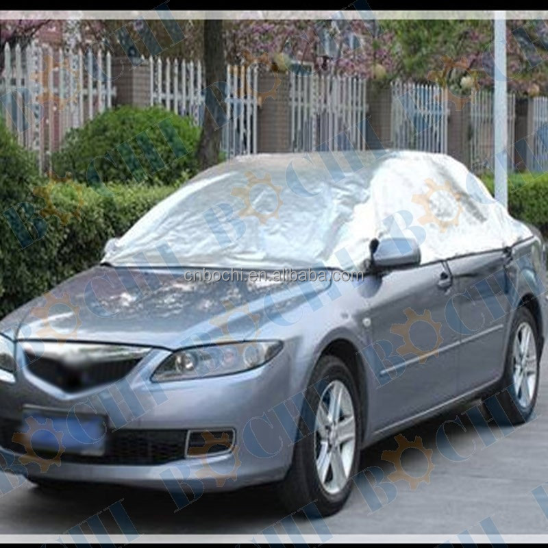2016 popular good quality half car cover