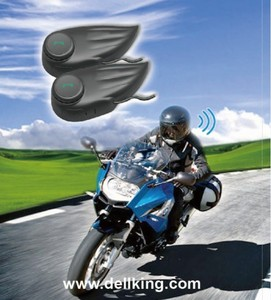 Motorcycle motorbike helmet bt bluetooth intercom interphone headset 2 riders R4 800M with remote controller