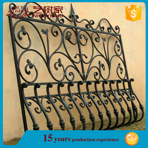Yishujia factory window grills and gate design, house window grill inserts
