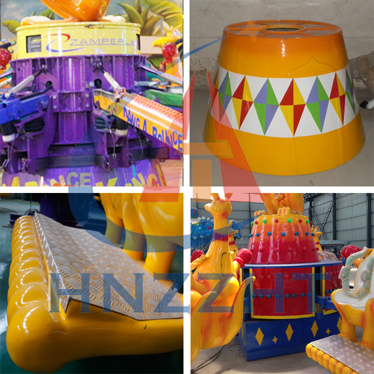 Theme Park  Happy Jumping  Rides Kangaroo Jump/Carnival Kids Rides for Sale