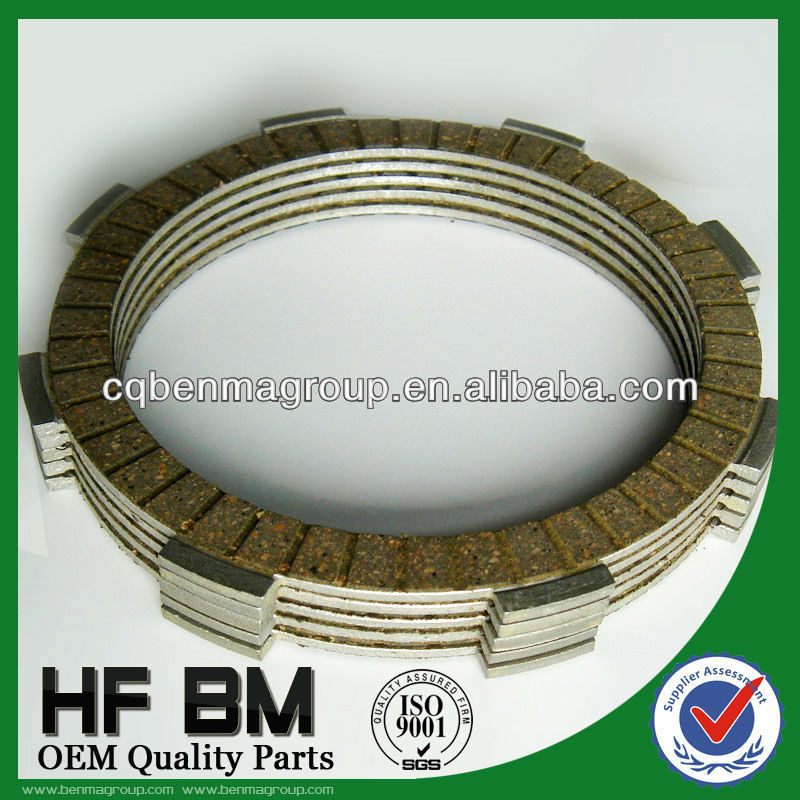 Exclusivity Oilproof feature Motorcycle Clutch Disc Plate , Clutch Fiber, friction plate clutch disc XL125