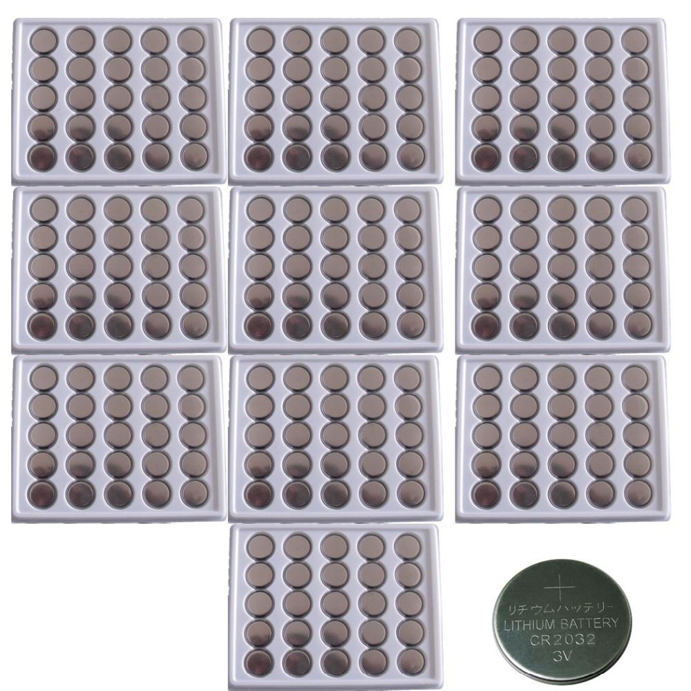 250 шт. оптом CR2032 3 В / 210 мАч кнопки лития круглая батарея для часов, калькулятор и т . д .