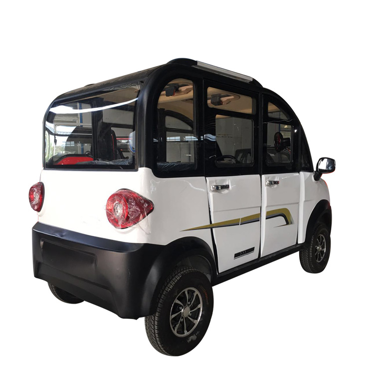 2018 Newest Luxury Taxi 6 Seats 4 Wheel Electric Car Made In China