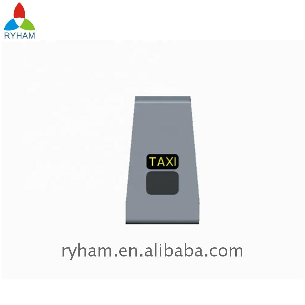 China manufacturer advertising taxi screen rooftop sign <strong>video</strong> led